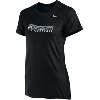 Mountainside Youth Football 03: Nike Women's Legend Short-Sleeve Training Top - Black