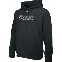 Mountainside Youth Football 09: Adult-Size - Nike Team Club Men's Fleece Training Hoodie - Black