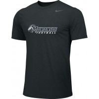 Mountainside Youth Football 01: Adult-Size - Nike Team Legend Short-Sleeve Crew T-Shirt - Black